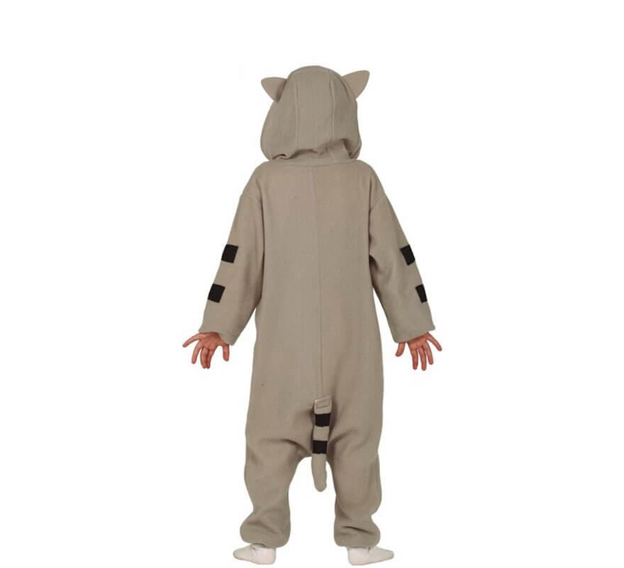 Disfraz Pijama de Gato Gris para niños-B