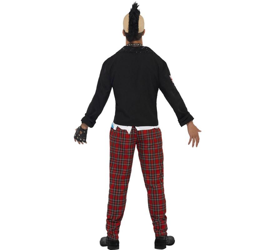 d guisement de punk des ann es 80 pour homme plusieurs tailles. Black Bedroom Furniture Sets. Home Design Ideas