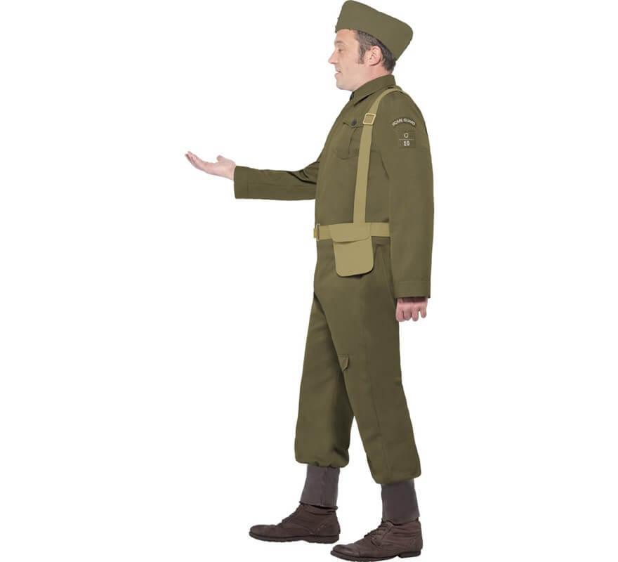 Disfraz Recluta Guardia Nacional 2ª GM para Hombre-B