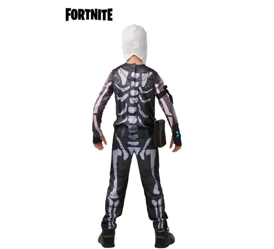 Disfraz Skull Trooper Fortnite para niños y adolescentes-B