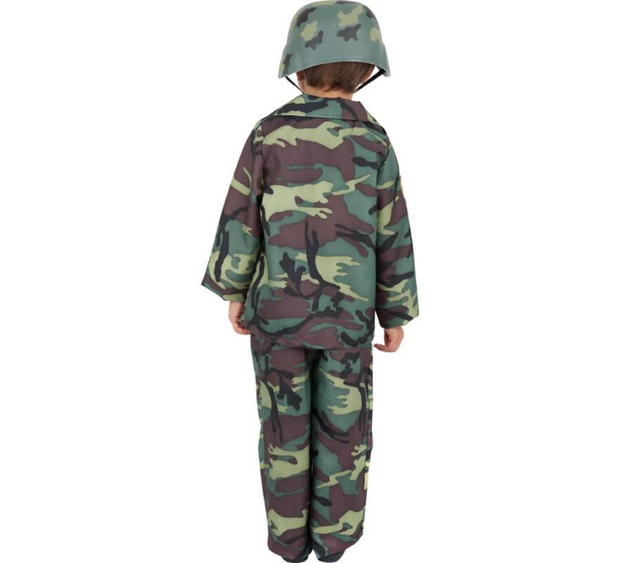 Disfraz Soldado Paracaidista para Niño-B