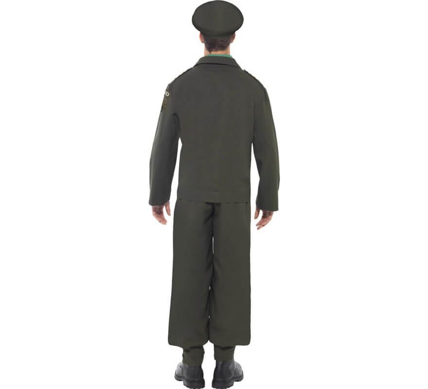 Disfraz Teniente Guardia Nacional 2ª GM para Hombre-B