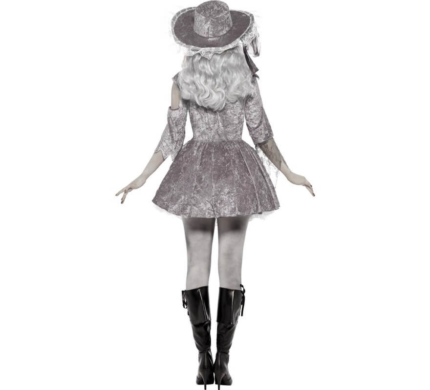 Disfraz de Fantasma Pirata de Barco para Mujer-B