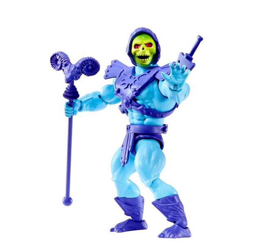 Figura de Skeletor Master of The Universe de 14 cm-B