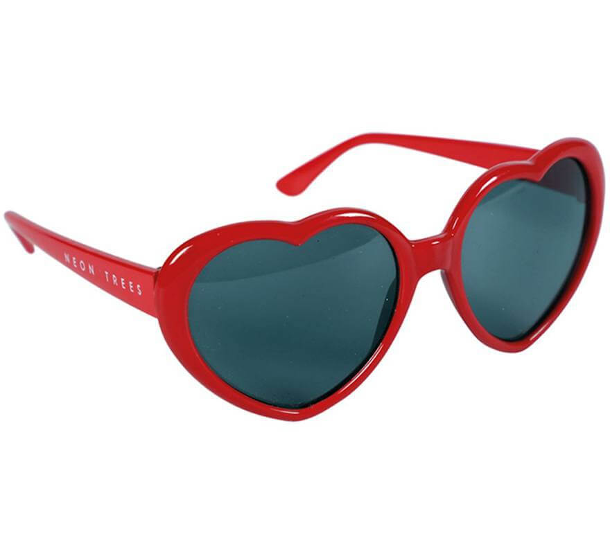 Gafas de Corazones Rojas-B
