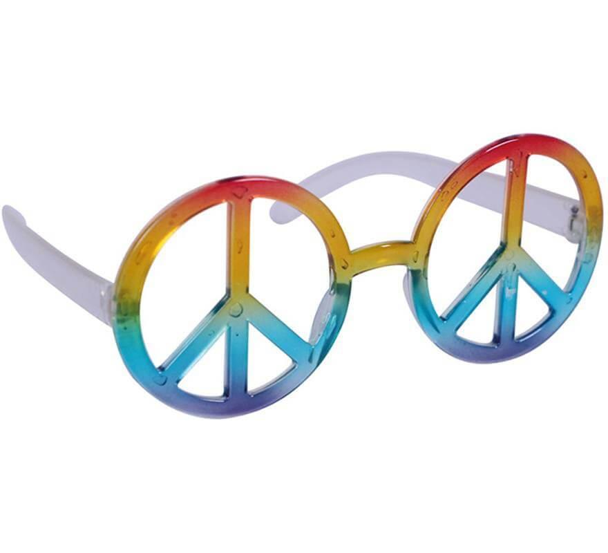 Gafas Hippie de la Paz Multicolor-B