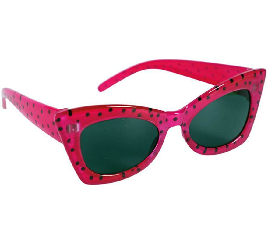 Gafas Rosas con Lunares Años 50-B