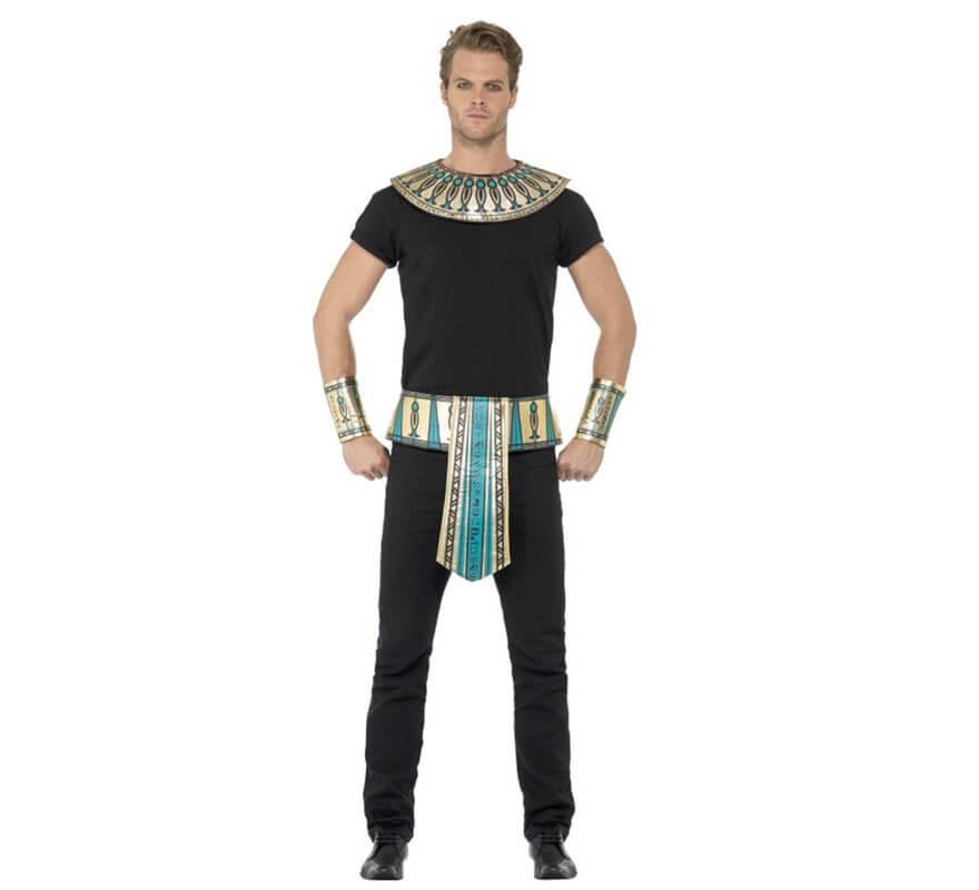 Kit de Egipcio adulto: Cuello, brazaletes y cinturón-B