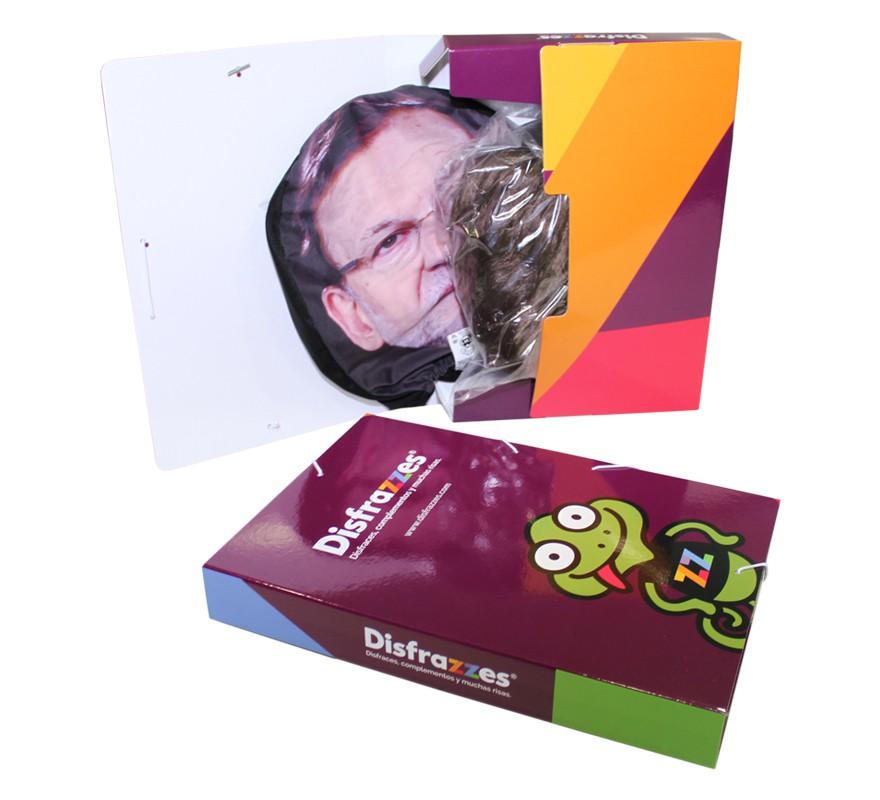Kit de Peluca y Máscara Presidente Mariano Rajoy-B