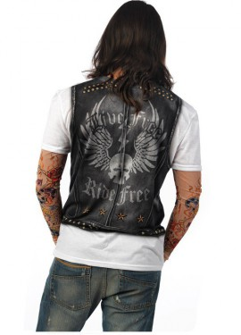 Chemise de Motard Deluxe pour homme