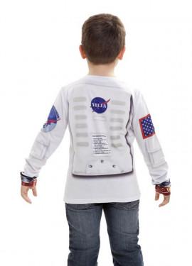 Camiseta disfraz Astronauta para niños