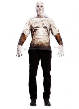 Camiseta disfraz Caminante para hombre para Halloween