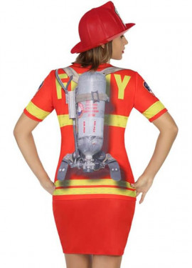 T-shirt déguisement de Police pour femme