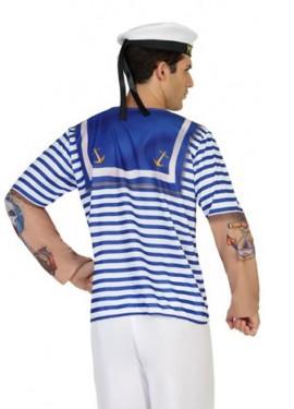 Camiseta disfraz de Marinero para hombre