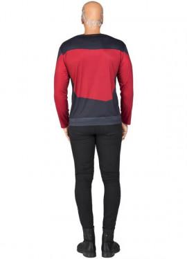 Camiseta Disfraz de Picard de Star Trek para hombre