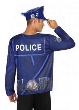 T-Shirt Police pour homme
