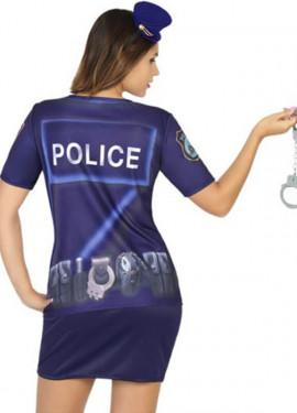 T-shirt ou déguisement de Police pour femme