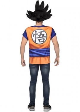 Camiseta Disfraz de Son Goku de Dragon Ball para hombre