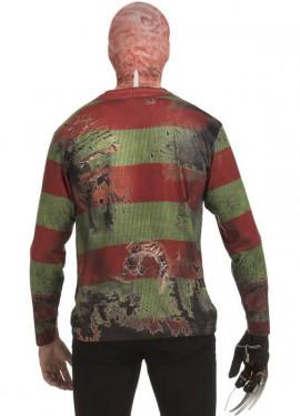 Camiseta disfraz Freddy Krueger para hombre