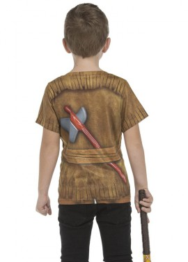 Camiseta disfraz Indio para niño