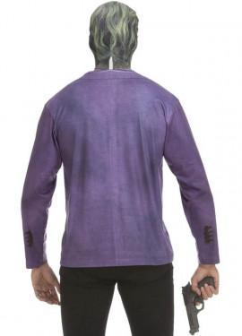 Déguisement T-Shirt Joker Chevalier Noir pour homme