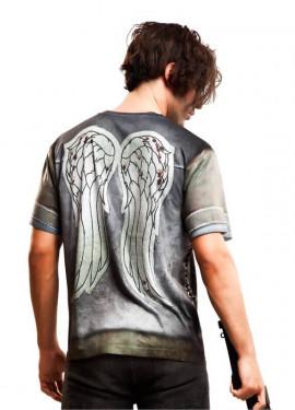 T-Shirt déguisement de Motard pour homme