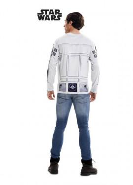 T-shirt déguisement de R2-D2 pour adultes Star Wars Épisode VII