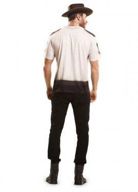 T-shirt Shérif Américain pour homme plusieurs tailles