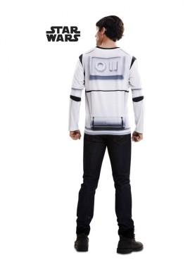 T-shirt déguisement de Stormtrooper pour Adultes Star Wars VII