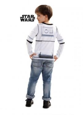 T-shirt déguisement de Stormtrooper pour enfant Star Wars VII