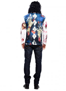 T-shirt Zombie pour homme taille M