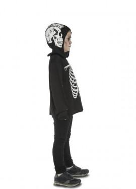 Camiseta o Disfraz de Esqueleto Casual para niño
