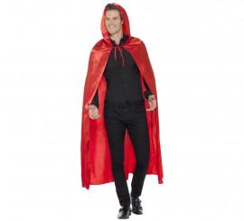 Capa con Capucha Roja para adultos