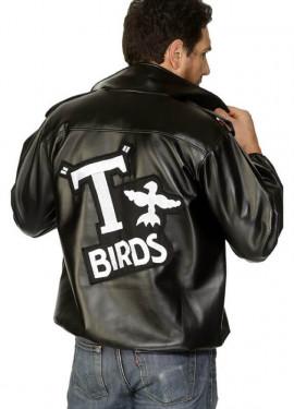 Veste T-Birds Grease inscription brodée Homme plusieurs tailles
