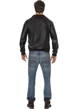 Déguisement - Veste d'aviateur Top Gun homme plusieurs tailles