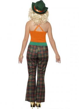 Disfraz Chula de Los Años 70 para Mujer