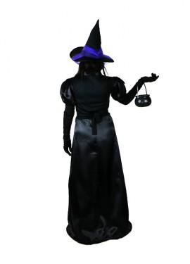 Disfraz completo EAZZY de Bruja negra para mujer