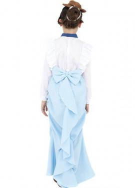 Disfraz Dama Victoriana Elegante para Niñas