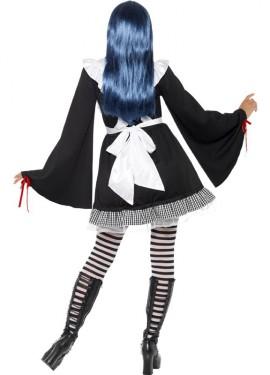 Disfraz de Alicia Gótica para mujer