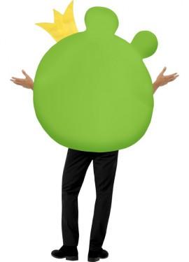 Disfraz de Angry Birds Cerdo Verde para adultos