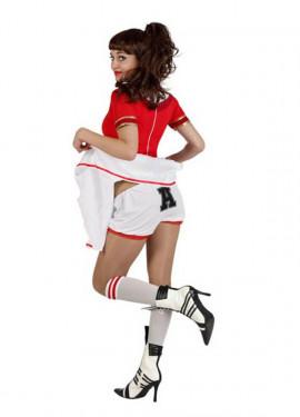 Déguisement Pom-pom girl avec culotte pour Femme plusieurs tailles