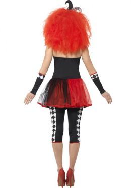 Disfraz de Arlequina Perversa para mujer