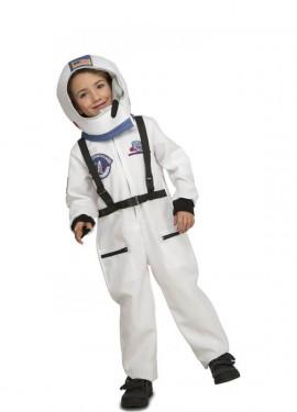 Disfraz de Astronauta con Casco para niños