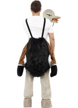 Disfraz de Avestruz a hombros para adultos