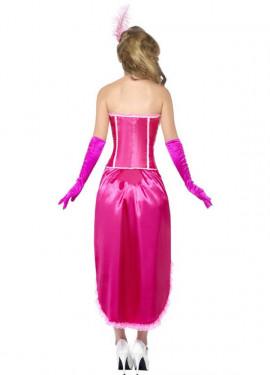 Déguisement de Danseuse Cabaret Rose pour Femme plusieurs tailles