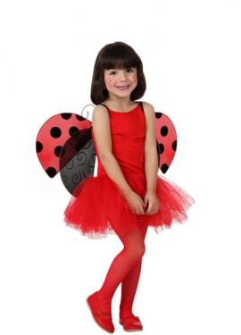 Déguisement Ballerine Rouge enfants pour fille plusieurs tailles