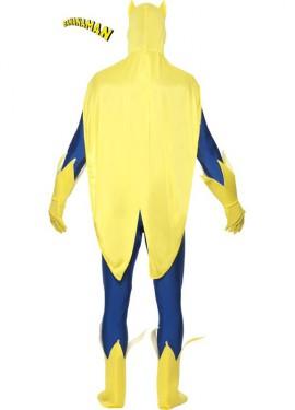 Disfraz de Bananaman segunda piel para hombre