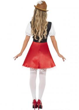 Disfraz de Bávara para Mujer para Oktoberfest