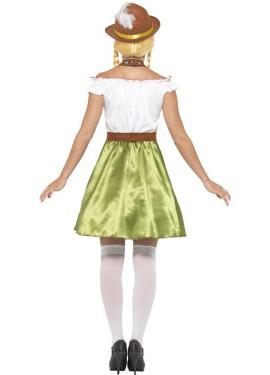 Disfraz de Bávara Verde para mujer