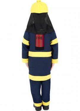 Disfraz de Bombero para Niño de 7 a 9 años
